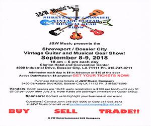 Advertisement – J&W Music Guitar Show