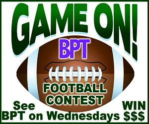Advertisement – BPT (Wednesday Football Contest)
