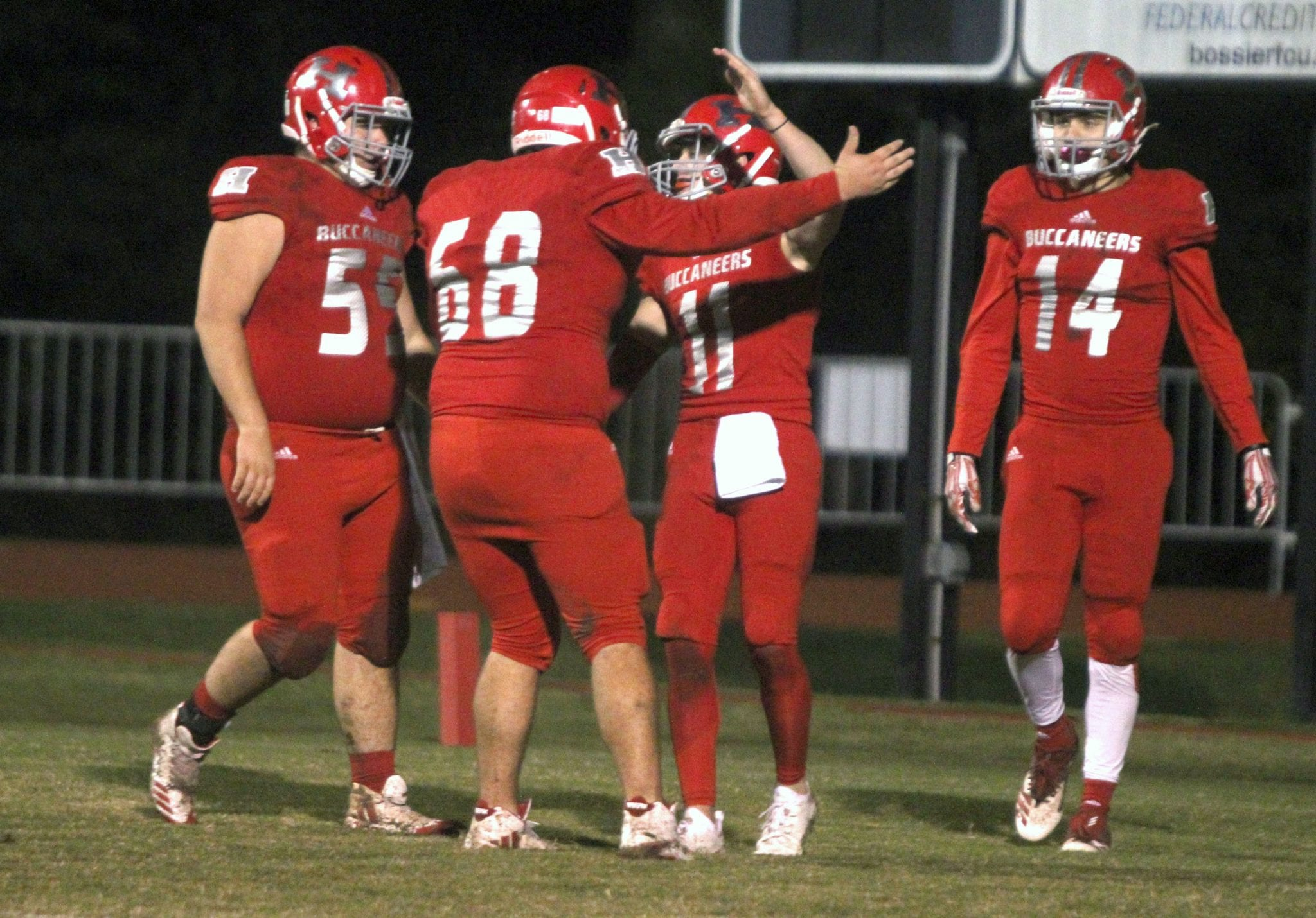 High School Football Haughton Faces A Familiar Foe In Second Round