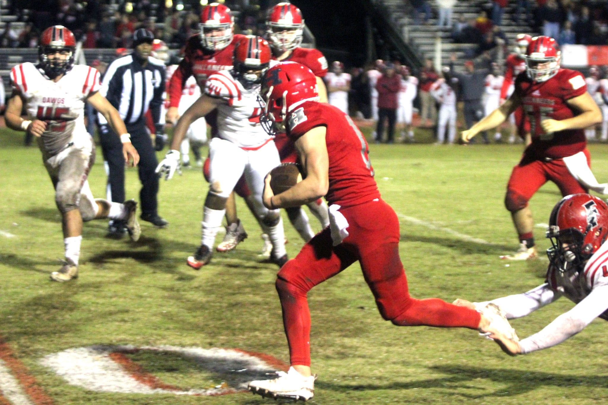 High School Football Mcwilliams Sweeney Lead Haughton To Victory