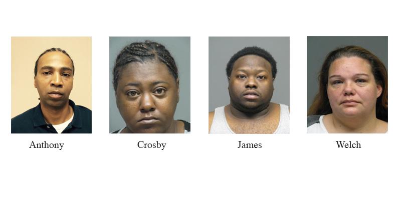 Bossier City warrant round up nets four arrests | Bossier