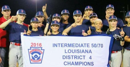 Parish teams fare well in Little League, Dixie district