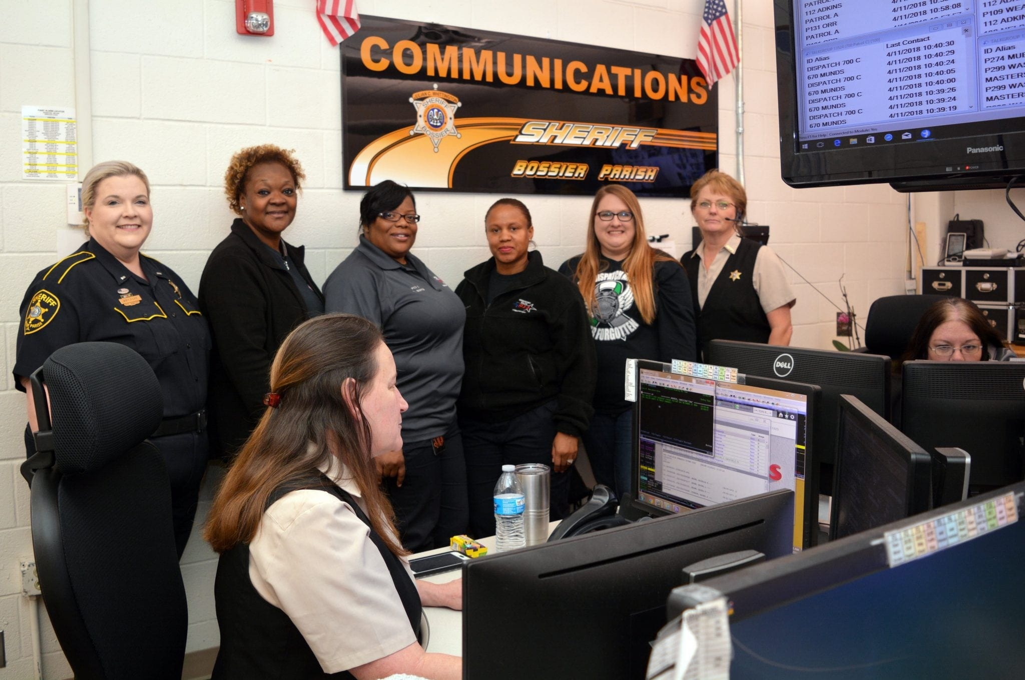 Sheriff honors dispatchers this week | Bossier Press-Tribune