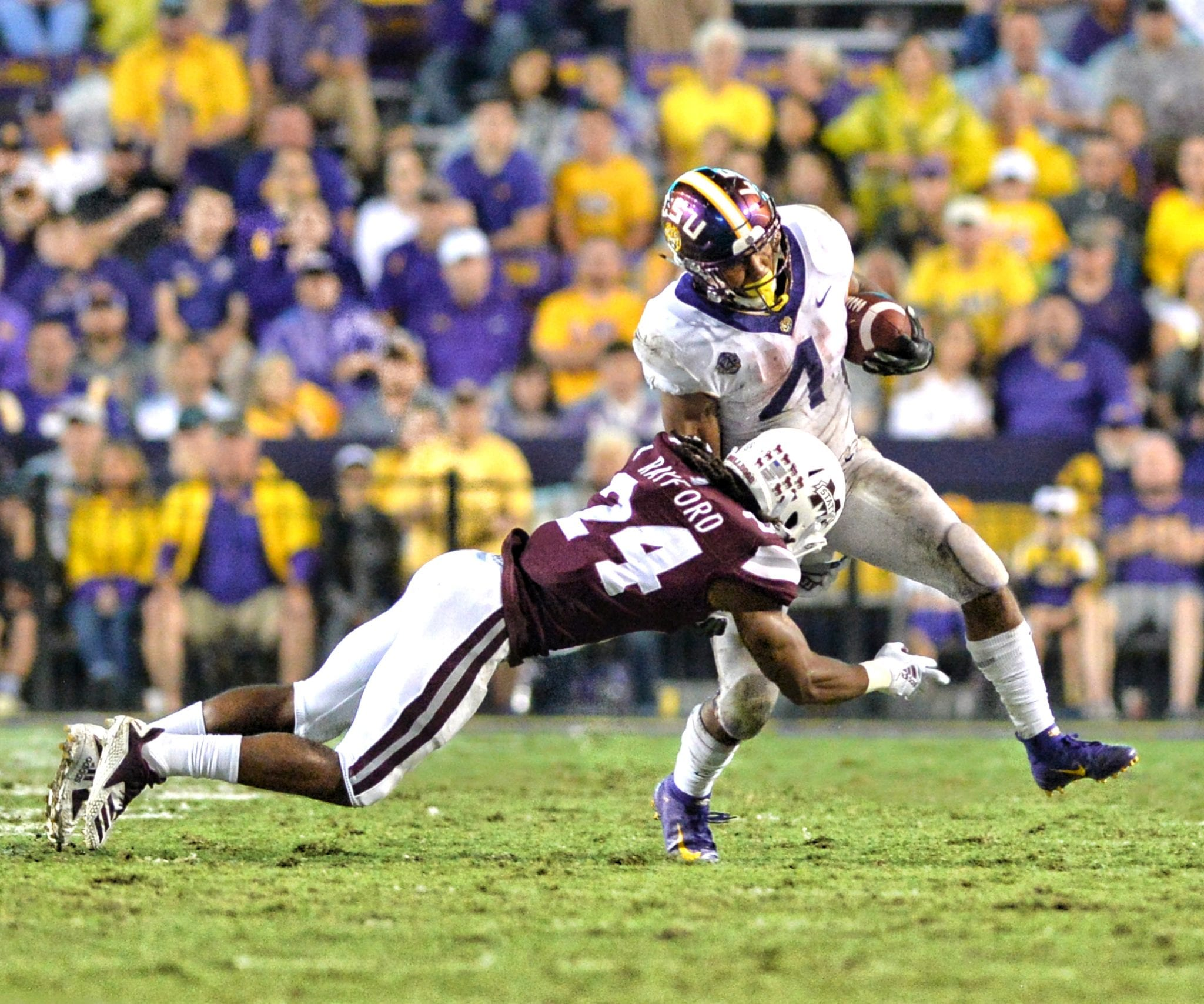98ab63b2 College football: LSU downs Miss. State; Tigers rise to No. 4 in polls