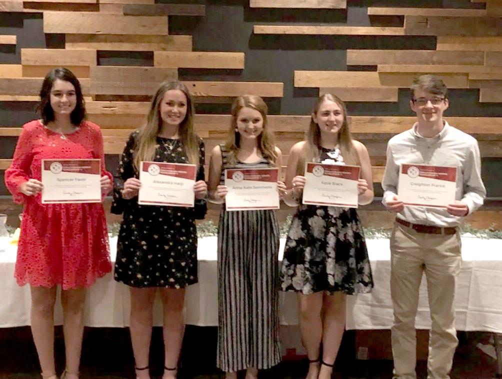 Students Awarded Louisiana Heroes Scholarship Bossier Press Tribune