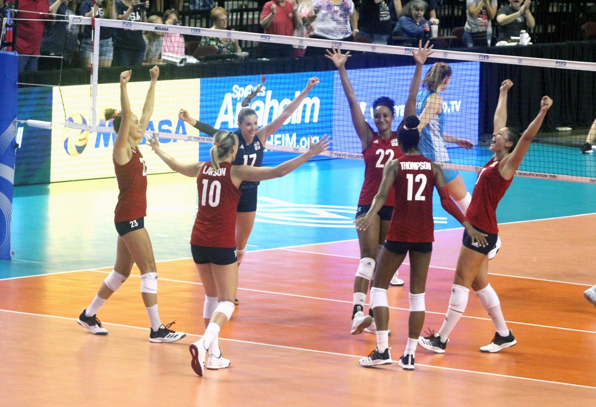 Volleyball Team USA Wins Tournament Qualifies For 2020 Summer