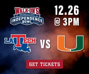 Advertisement: Independence Bowl