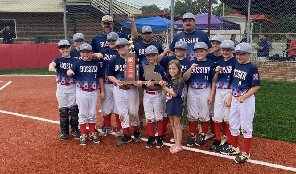 Dixie Baseball Bossier City All Stars Win 11u State Title Advance To Regional World Series Bossier Press Tribune
